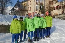 Biatlonový tým Vysočiny táhli na olympiádě dětí v Ústeckém kraji závodníci z Nového Města.