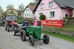 V Kundraticích na Bystřicku slavili retro 1. máj.