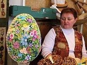 Velikonoční jarmark se v novoměstském Horáckém muzeu koná rok co rok.