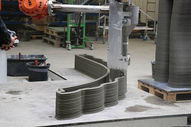 Firma ICE představila budoucnost ve stavebnictví. 3D tisk betonu.