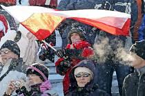 Na Zlatou lyži si o víkendu našlo cestu celkem dvaadvacet tisíc fanoušků.