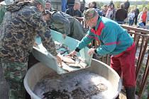 Extrémní výkyvy teplot rybám nesvědčí, říkají rybáři na adresu letošního hodně proměnlivého počasí.