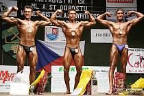 SEZONU DOVRŠILO STŘÍBRO. Poslední úspěchem domácí sezony byly stříbrné medaile Lukáše Vencálka (vlevo) ve Zbýšově v kategorii staršího a mladšího dorostu.
