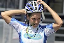 V závodě kategorie Elite mužů i žen se v Novém Městě na Moravě představí kompletní světová špička včetně nejlepších tuzemských závodníků. V závodě žen by chtěla ty nejvyšší příčky atakovat i česká reprezentantka Kateřina Nash (na snímku).