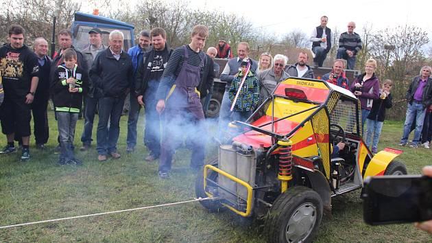 Bohuňovská traktoriáda startuje už tuto neděli, tentokrát s hlubším brodem