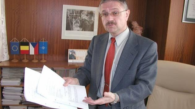 Starosta Jaromír Brychta