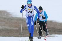 Zimní olympiáda mládeže - lyžování ve Vysočina aréně.