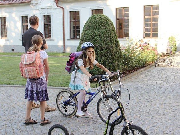 Do zámecké školy ve Žďáře chodí 106 dětí, prvňáčků je letos 22.