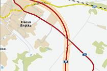 Frekventovaná silnice I/37 obejde Osovou Bítýšku a projekt zároveň vyřeší dvě nebezpečné zatáčky za obcí ve směru na Velkou Bíteš.