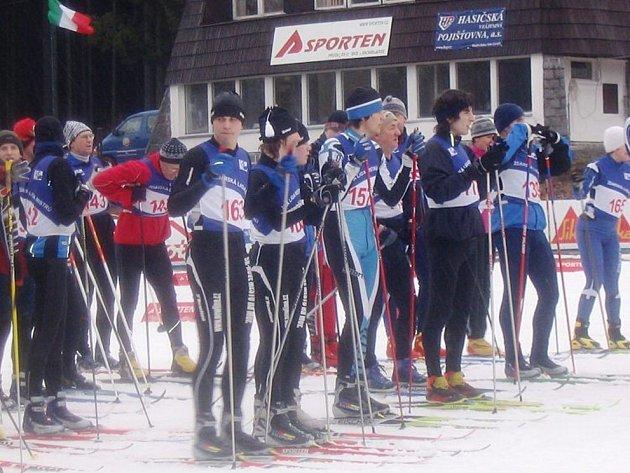 Žďárská Liga mistrů - běh na lyžích