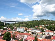 Dálniční most ve Velkém Meziříčí.