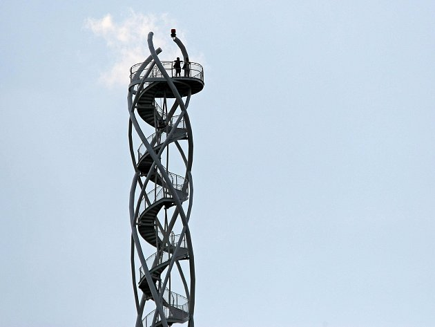 Vyhlídková věž na Fajtově kopci.