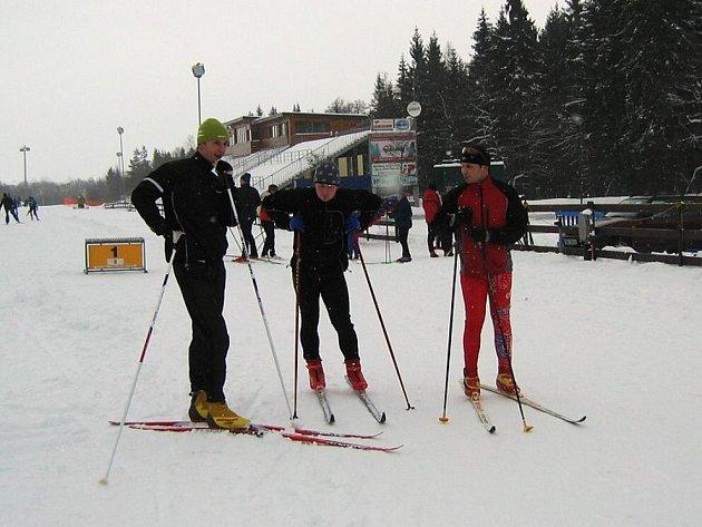 Žďárská Liga mistrů - lyžařský sprint