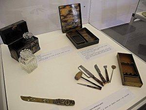 Expozice obsahuje řadu zajímavých exponátů.