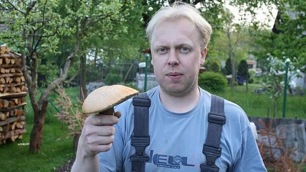 Prvního vojnoměsteckého křemenáče roku 2011 našel místní houbař Pavel Hocke.
