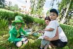 Den dětí v centru pro rodiče s dětmi Kopretina ve Velkém Meziříčí.