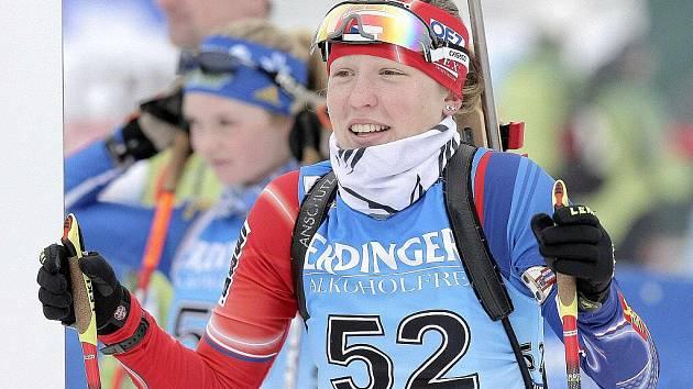 Monika Vítková zahájila juniorský šampionát špatně. V individuálu už pronikla do třetí desítky.