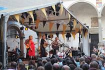 Koncert Glena Hansarda v Telči. Foto: Deník/Zuzana Burdová
