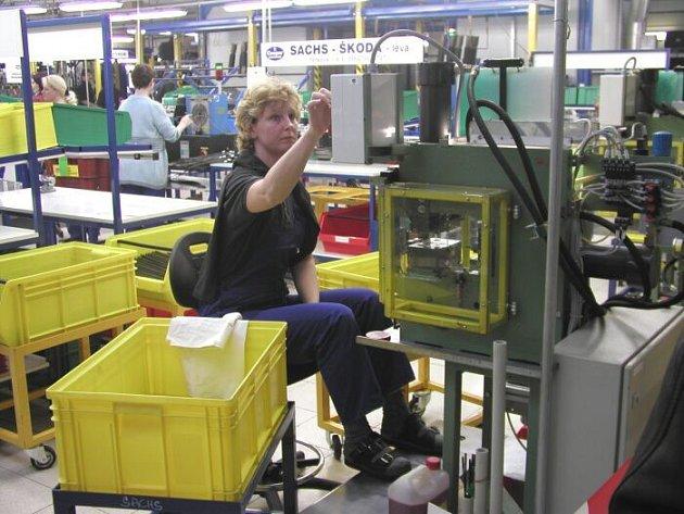 Výroba v Cooper Standard Automotive