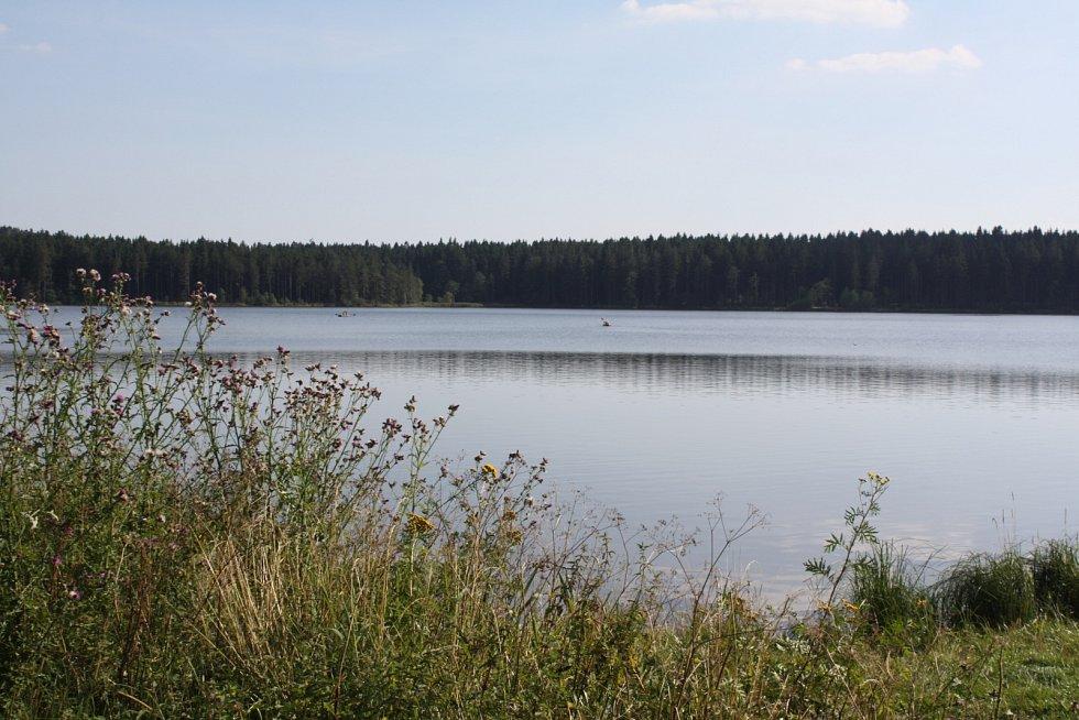 Medlovský rybník.