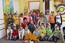 Na snímku jsou žáci ze ZŠ Palachova ve Žďáře nad Sázavou, třída 1. B paní učitelky Jany Dvořákové.