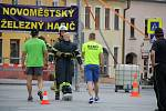 Hasičské klání na Vratislavově náměstí