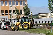Stavební práce potrvají do konce prázdnin.