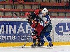 Už za šest dní vstoupí do nového ročníku II. ligy – skupiny Střed hokejisté Žďáru (v černém).