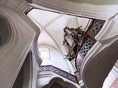 Žďárská bazilika Nanebevzetí Panny Marie.