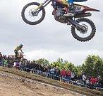 Mezinárodní mistrovství ČR v motokrosu.