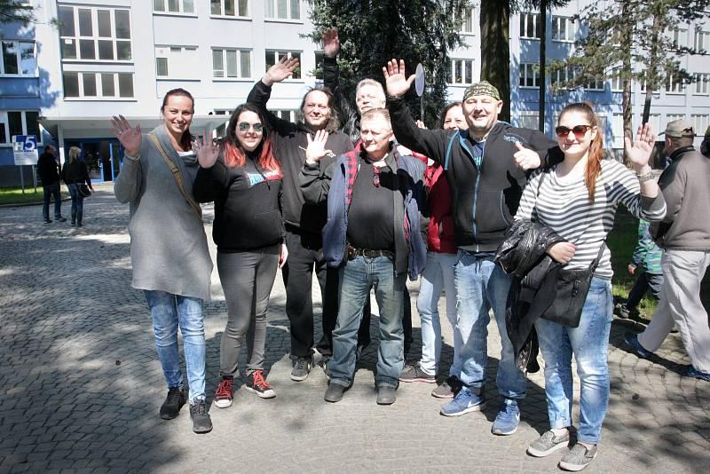 V pondělí 1. května se v dopoledních hodinách uskutečnil v akciové společnosti ŽĎAS již tradiční Den otevřených dveří.