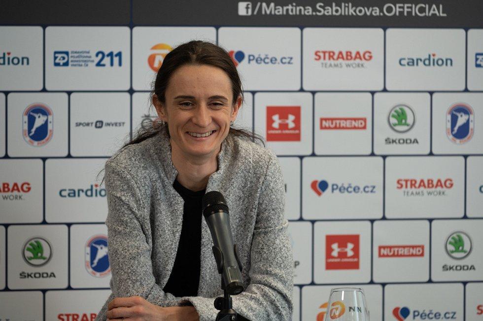 Martina Sáblíková.