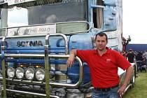 Truckshow Šeborov 2013 organizoval Daniel Dvořák z firmy Dvořák-Trucks.