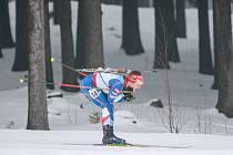 Biatlon, ilustrační foto.