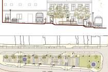 Nové autobusové nádraží ve Velké Bíteši zároveň vyřeší plánovanou rekonstrukci severní části Masarykova náměstí.