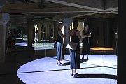 Zrcadla kaleidoskopu přivítájí návštěvníky v baroku.