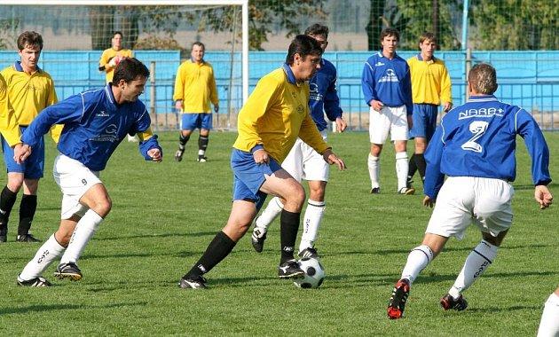 Fotbalisté Křoví remizovali na hřišti Boroviny a stále jsou v čele tabulky I. B třídy.