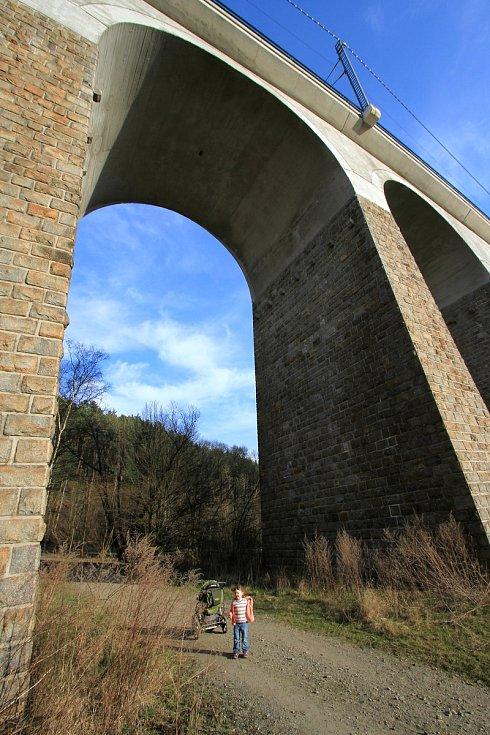 A zase Velký železniční viadukt Kutiny a zase malá Zuzanka