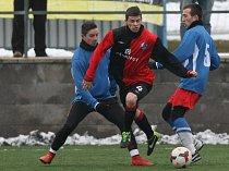 Fotbalisté Humpolce by měli jaro otevřít nedělním zápasem v Ledči. Otázkou ale zůstává, zda se kvůli terénu bude hrát.