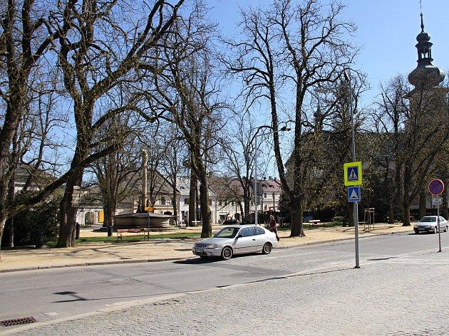 Park na Vratislavově náměstí by se měl podobat tomu na Špilberku