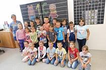 ZŠ Švermova Žďár nad Sázavou, třída 1.C paní učitelky Ivony Veselské. Foto: Deník/Lenka Mašová