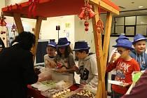 Jihlavská banka se proměnila ve vánoční jarmark.