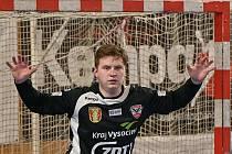Jedním z trojice házenkářů, kteří podepsali s klubem Sokola Nové Veselí smlouvu, je také gólman Martin Štohanzl.