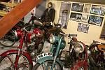 Motoristické muzeum v Bystřici nad Pernštejnem.