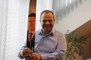 Michal Šmarda je dlouholetým členem ČSSD. A taky novoměstským starostou.