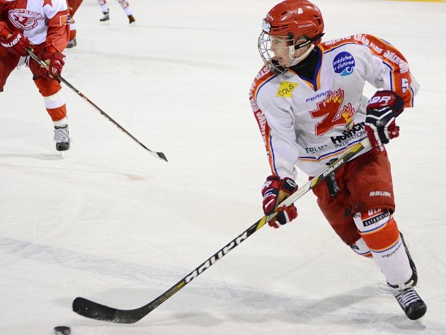 Martin Nečas hrál za Žďár ještě před dvěma lety extraligu mladšího dorostu. Teď už o hráče Komety Brno jeví zájem v zámoří.