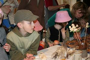 Velikonoční jarmark se v Horáckém muzeu koná rok co rok.