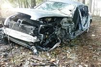 Páteční dopravní nehoda u Světnova.