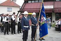 V roce 2003 si členové SDH z Radostína nad Oslavou připomněli již 110. výročí jeho vzniku.