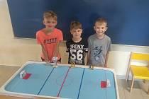 Děti se utkaly o titul nejlepšího hráče školy.